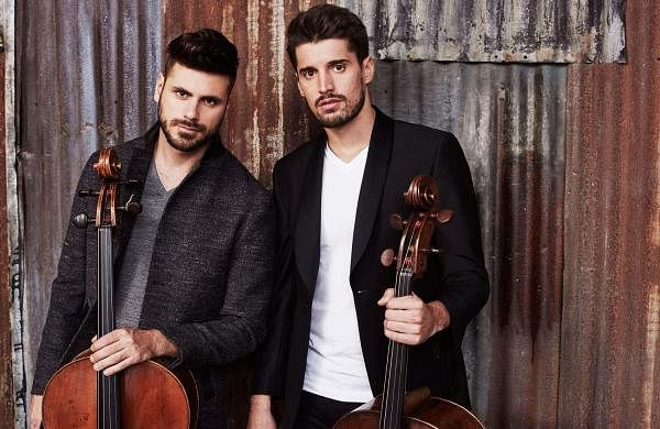 2CELLOS announce new album Let There Be Cello