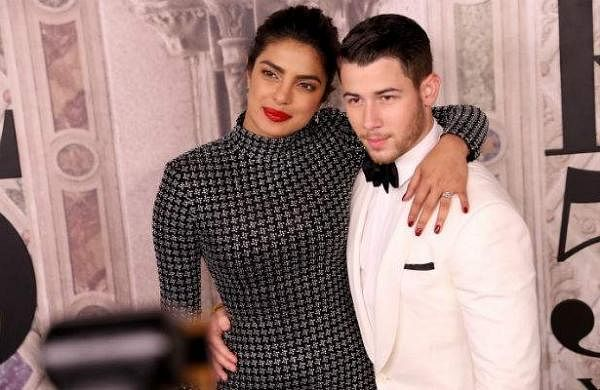 See Pictures: Priyanka Chopra, Nick Jonas recreate Prince Harry, Meghan Markle's engagement photo
