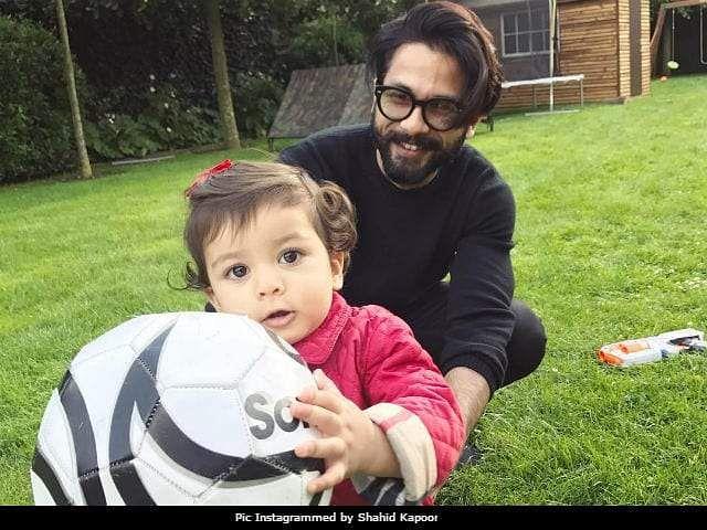 Shahid Kapoor backs out of movie promotions to take care of Misha, says being a parent is above everything else