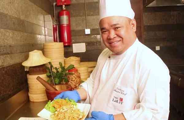 Master Chef Suriya Phusirimongkhonchai from The Lalit Chandigarh