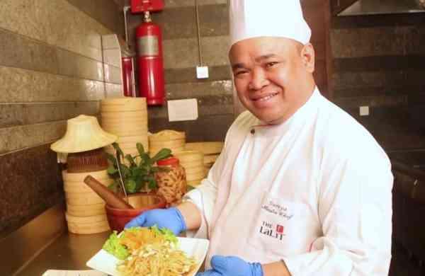 Master Chef Suriya Phusirimongkhonchai from The Lalit Chandigarh