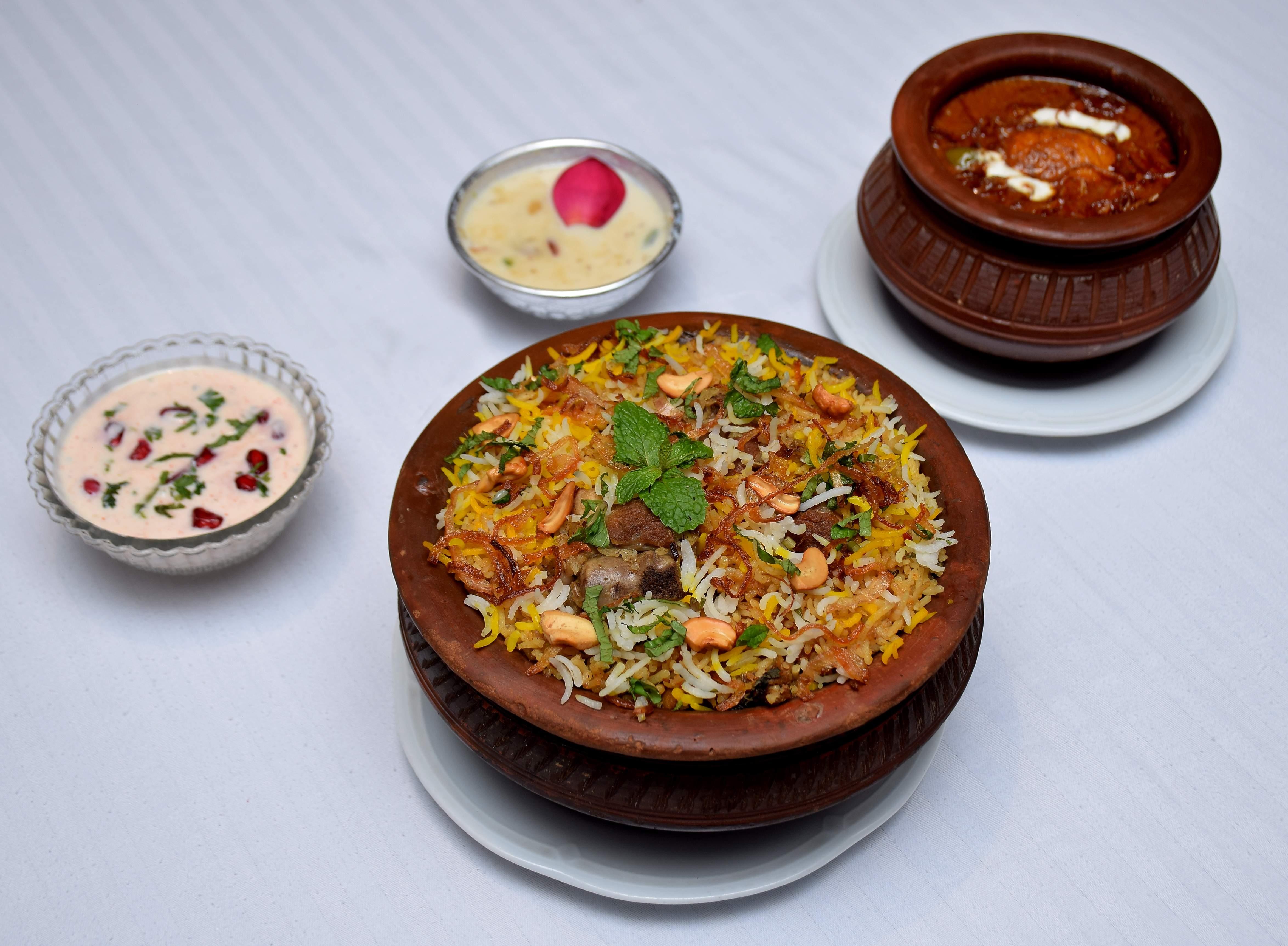 Awadhi Gosht(Lamb) Biryani Recipe