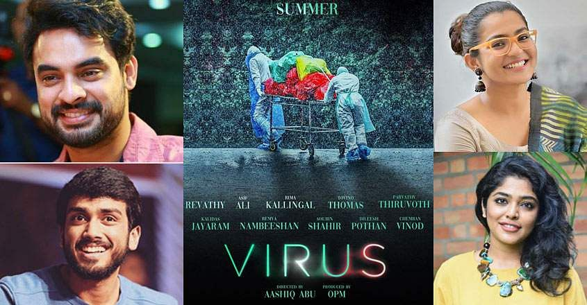 Malayalam director Aashiq Abu's Virus features an ensemble cast and might be based on the Nipahoutbreak