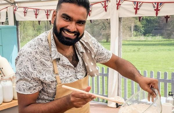 Antony Amourdoux on GBBO