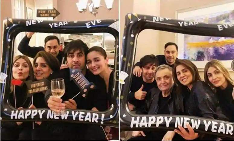 See all pictures: Alia Bhatt, Ranbir Kapoor celebrateNew Year with family in New York