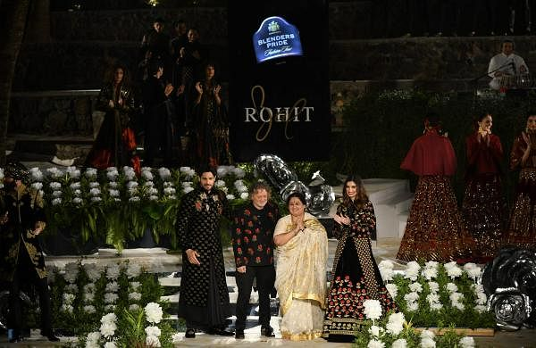 Ace designer Rohit Bal showcases My Heritage, My Pride with Sidharth Malhotra, Diana Penty at their