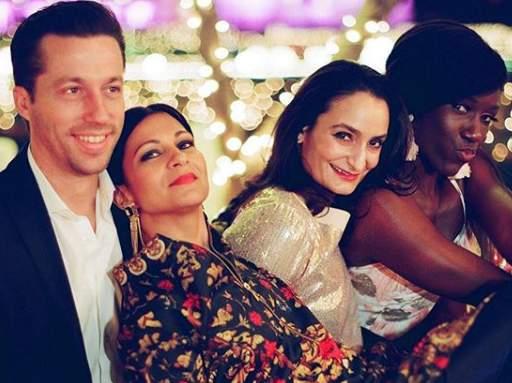 Priyanka Chopra's bridesmaids in of their many moment at the reception