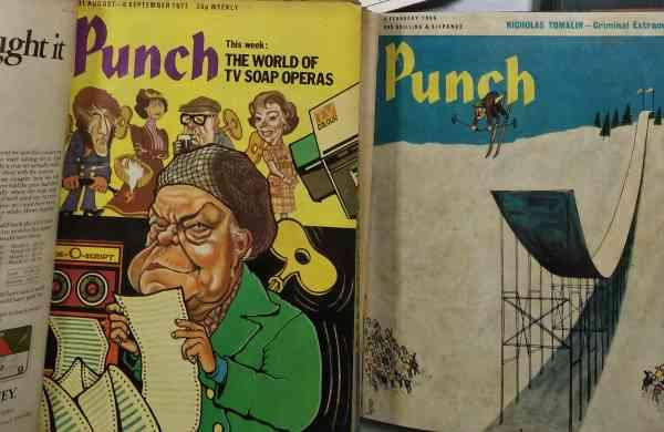 Vintage Punch magazines