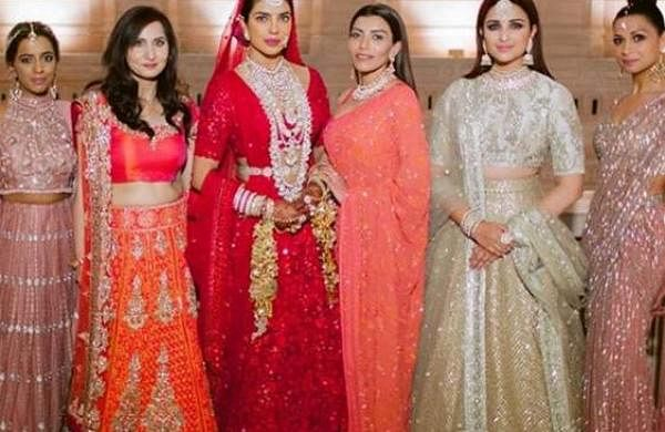 From Priyanka Chopra with her mother to posing with the bridesmaids including Parineeti Chopra, and several others, these pictures are gems.Priyanka_Chopra_2