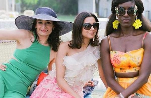 Priyanka Chopra's bridesmaids taking their time off wedding duty