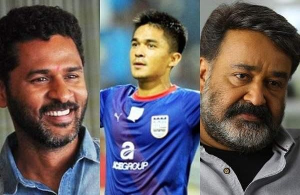 Prabhu Deva, Mohanlal, Sunil Chhetri,Gautam Gambhir,Kader Khan among the list of 112 Padma awardee