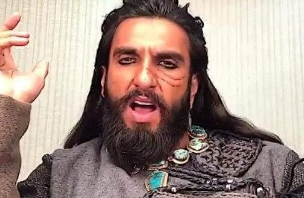 Watch: Ranveer Singh celebrates one-yearof Padmaavat with a quirky post, video goes viral