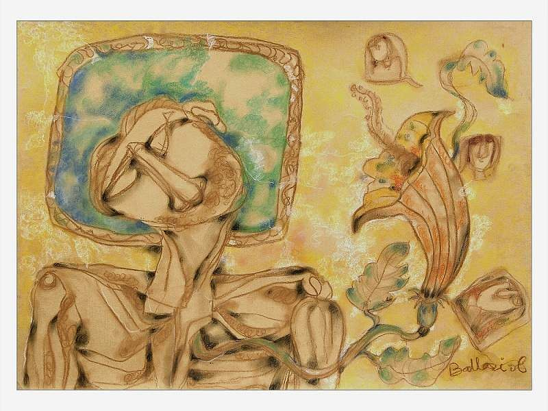 Ballari Mukherjee's drawings