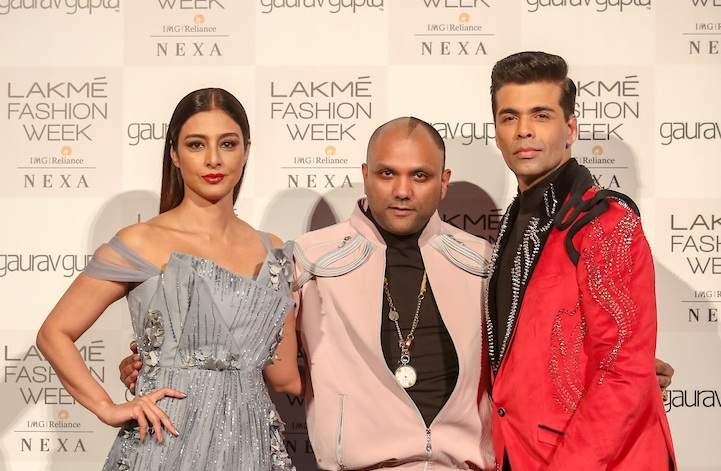 Showstoppers_Tabu_and_Karan_Johar_with_designer_Gaurav_Gupta_at_the_Opening_show_for_Lakme_Fashion_Week_SR_19_(1)