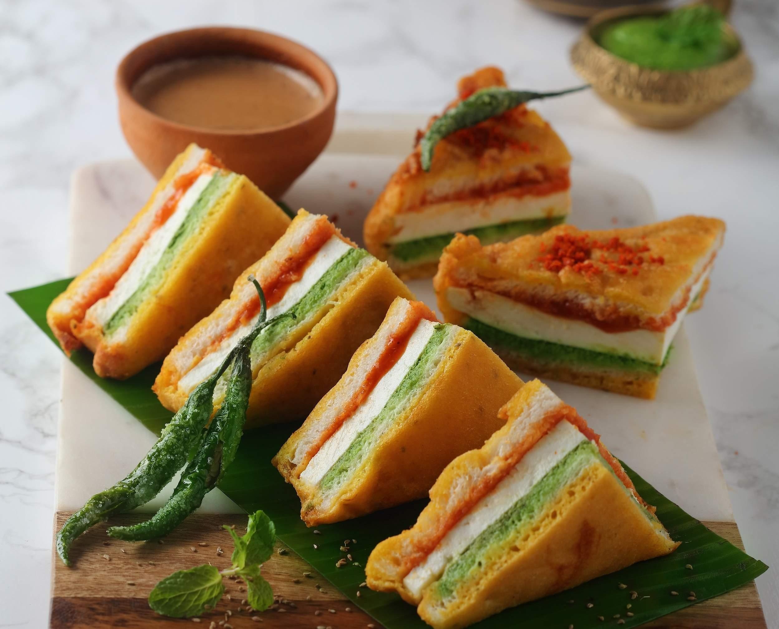 Tirangi Bread Pakoda Recipe