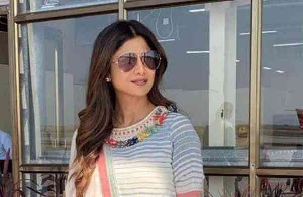 Shilpa Shetty in Purvi Doshi
