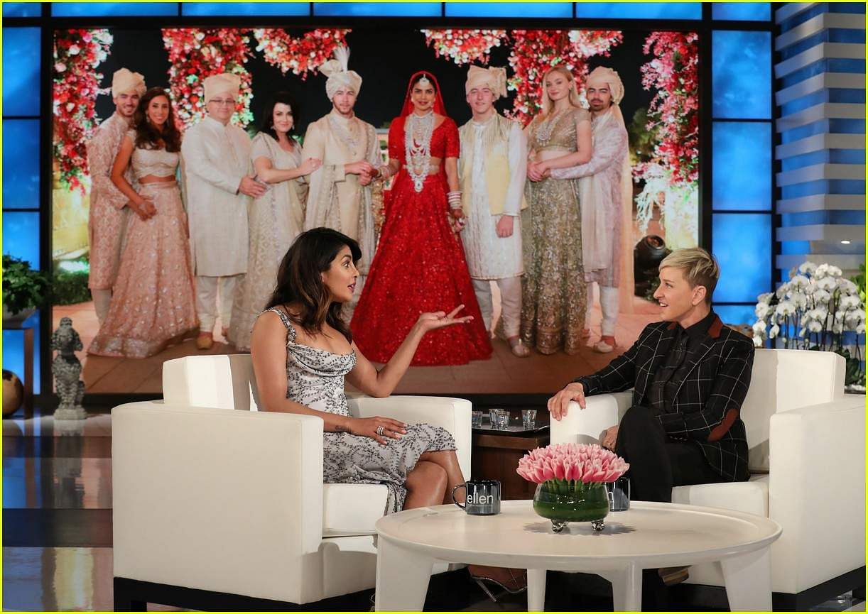 Watch: Priyanka Chopra reveals thereason why her mother was upset about her wedding on The Ellen Sh