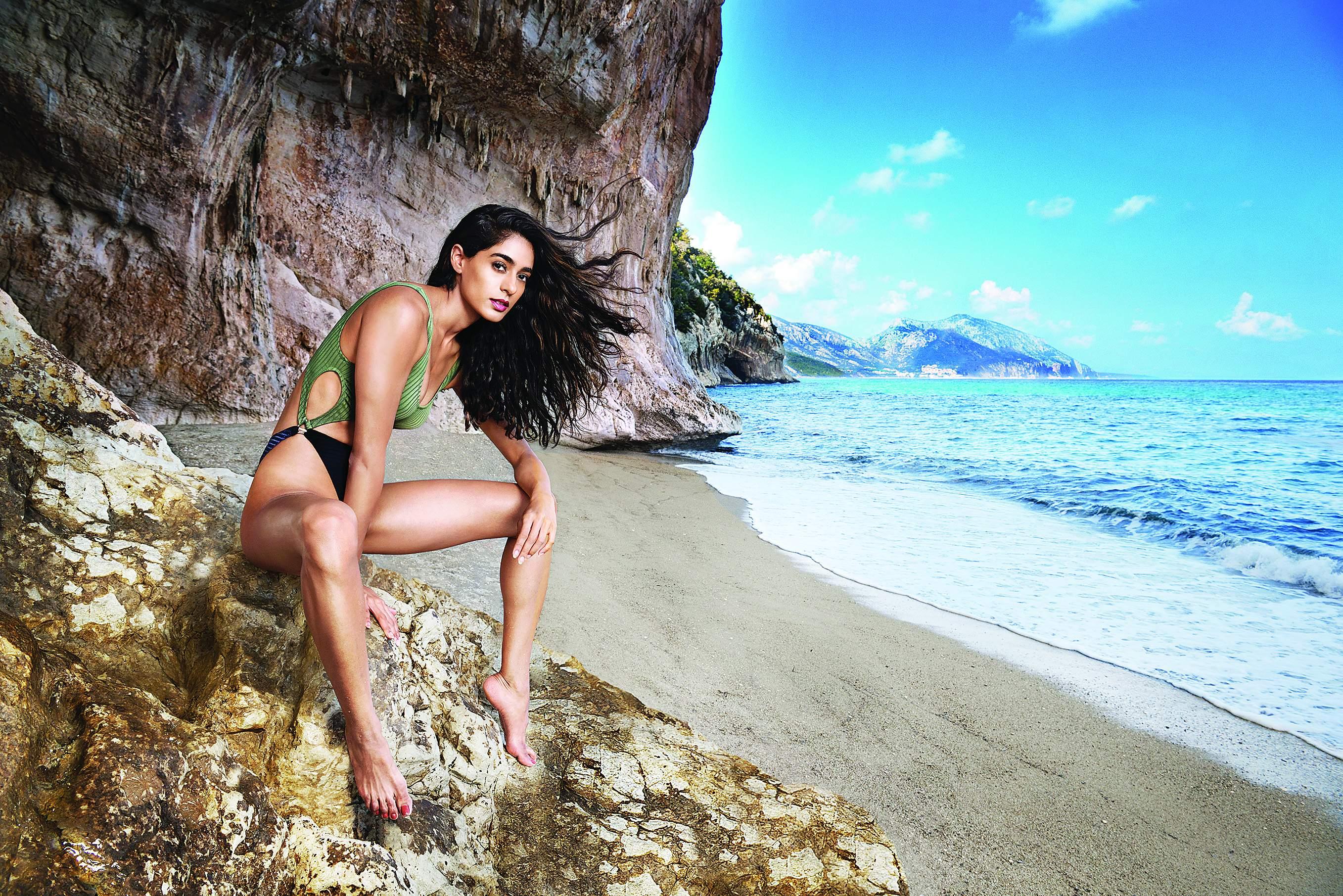Diva Dhawan kingfisher models