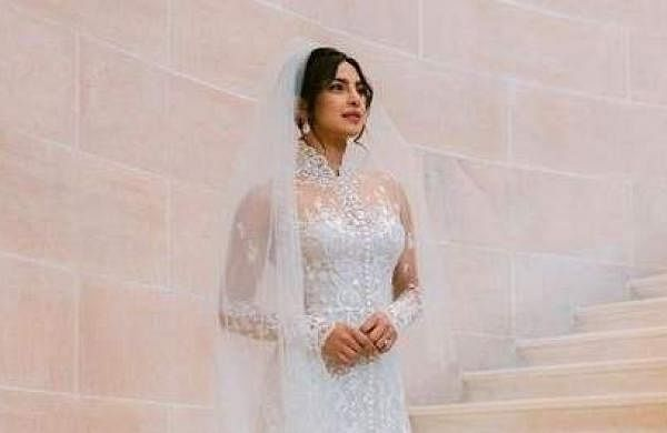 Priyanka Chopra wedding photo