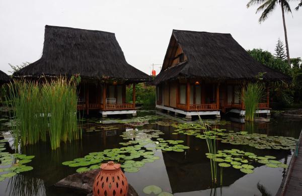 At the Kampung Sumber Alam resort