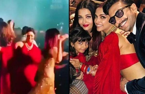Aishwarya Rai responds to viral video of her dancing with Deepika Padukone at Isha Ambani's wedding