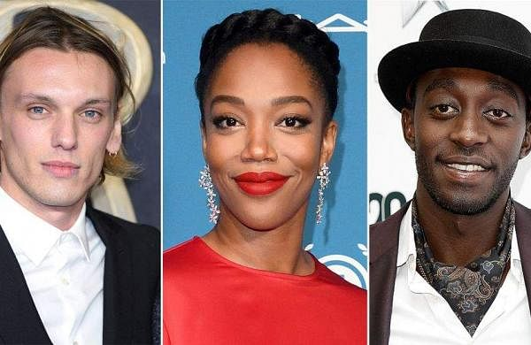 Jamie Campbell Bower, Naomi Ackie and Ivanno Jeremiah