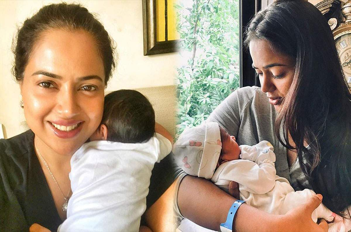 Sameera Reddy attempts to climbKarnataka's tallest peak carrying two-month-olddaughter