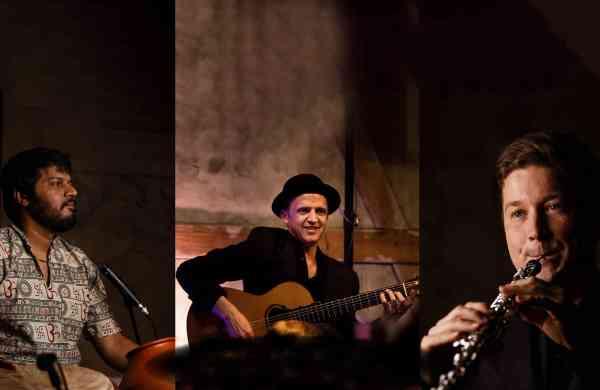 Bosque Magico (L-R): Karthik Mani, Ralf Siedhoff and Mykyta Sierov