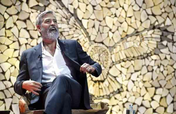 George Clooney (Heikki Saukkomaa/Lehtikuva via AP)