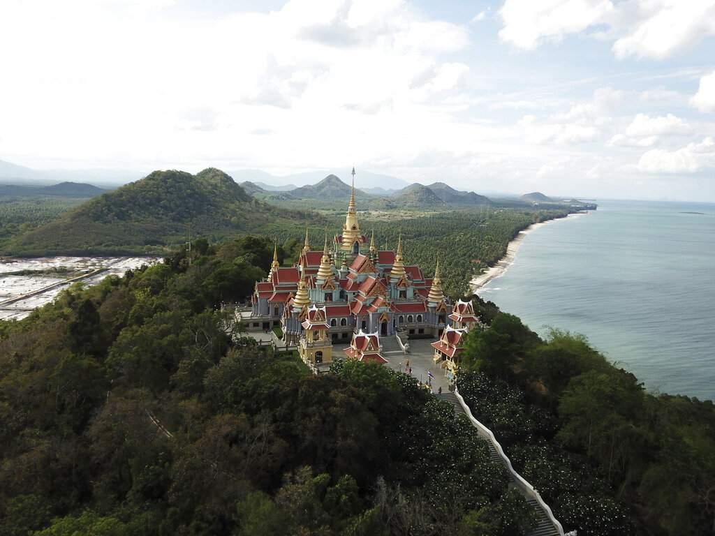 Wat Tang Sai Buddhist temple (AP Photo/Nicole Evatt)