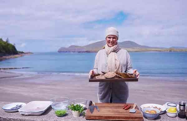 A still from Rachel's Coastal Cooking