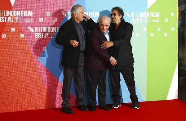 Pacino, Scorsese and De Niro (Photo by Joel C Ryan/Invision/AP)