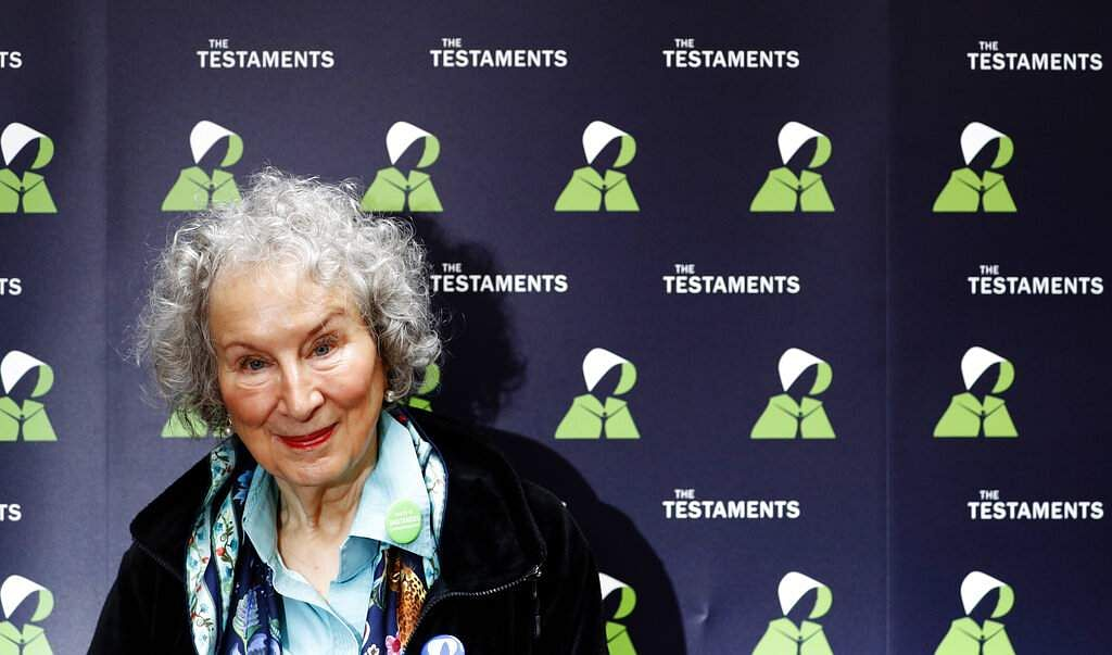 Canadian author Margaret Atwood (AP Photo/Alastair Grant)
