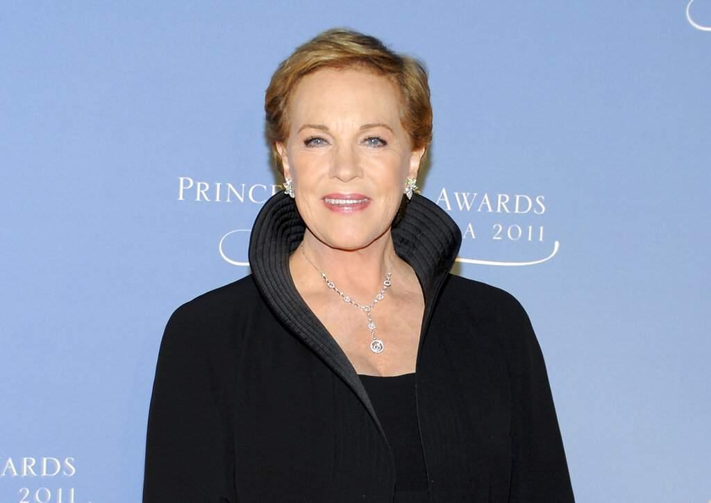 Julie Andrews (AP Photo/Evan Agostini)
