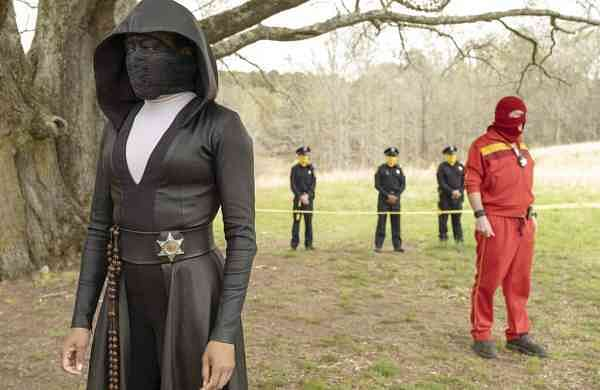 Regina King in Watchmen (Mark Hill/HBO via AP)