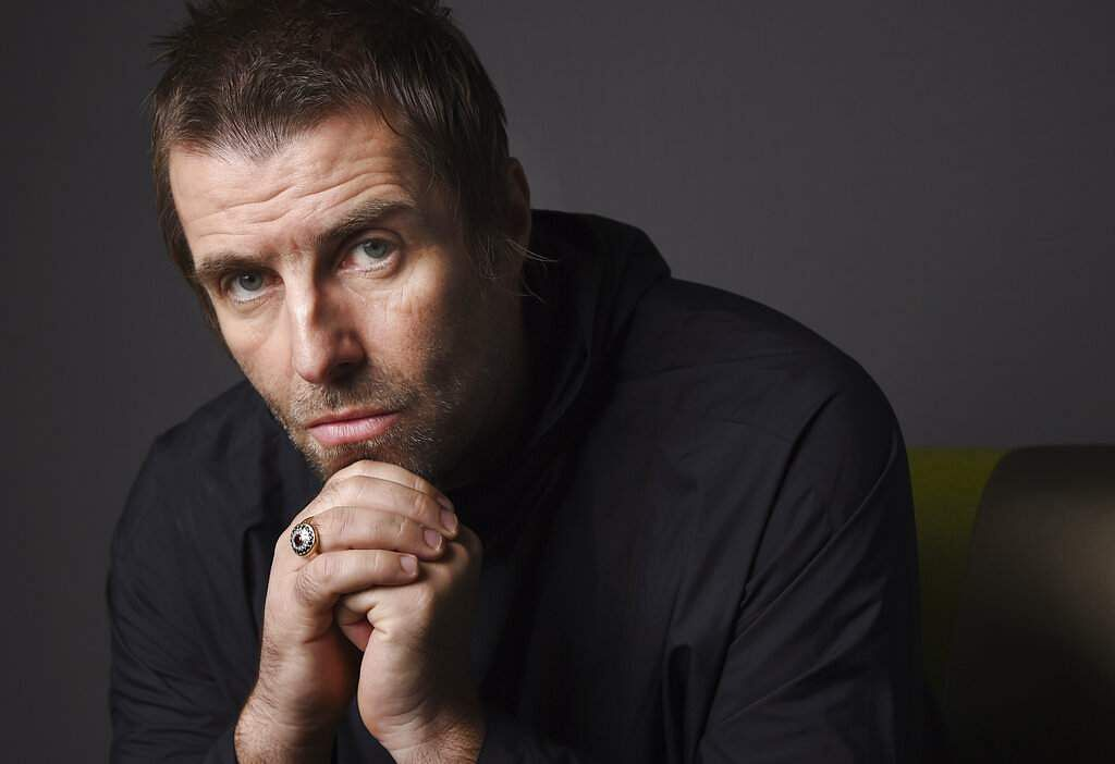 Liam Gallagher promotes his sophomore solo album Why Me? Why Not (Photo by Chris Pizzello/Invision/AP)