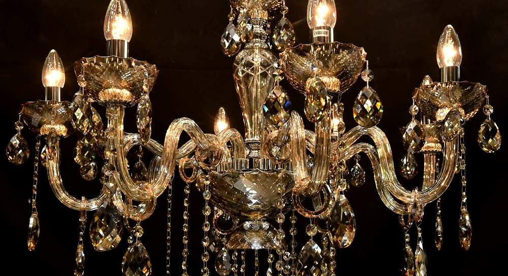 An_elaborate_glass_chandlier_by_Mahal