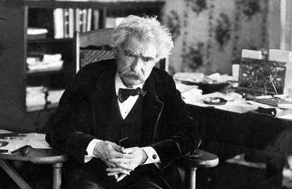 Mark Twain and the Holy Land (AP Photo)