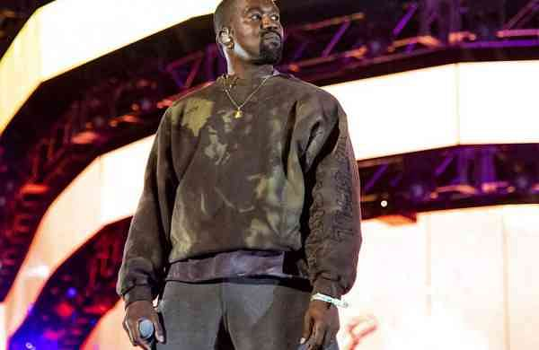 Kanye West performing at the Coachella Music & Arts Festival .Photo by Amy Harris/Invision/AP