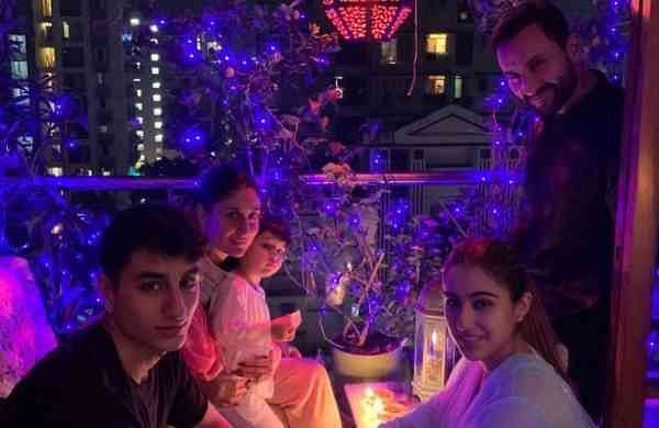 Sara Ali Khan's Diwali celebrations (Photo: IANS/Instagram)