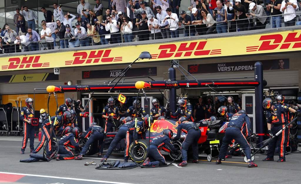 Red Bull driver Max Verstappen (AP Photo/Marco Ugarte)