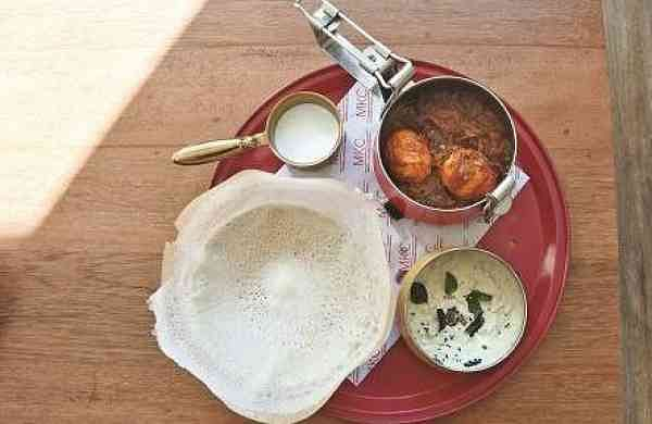 Mutta Roast and Appam at Madras Kitchen Company