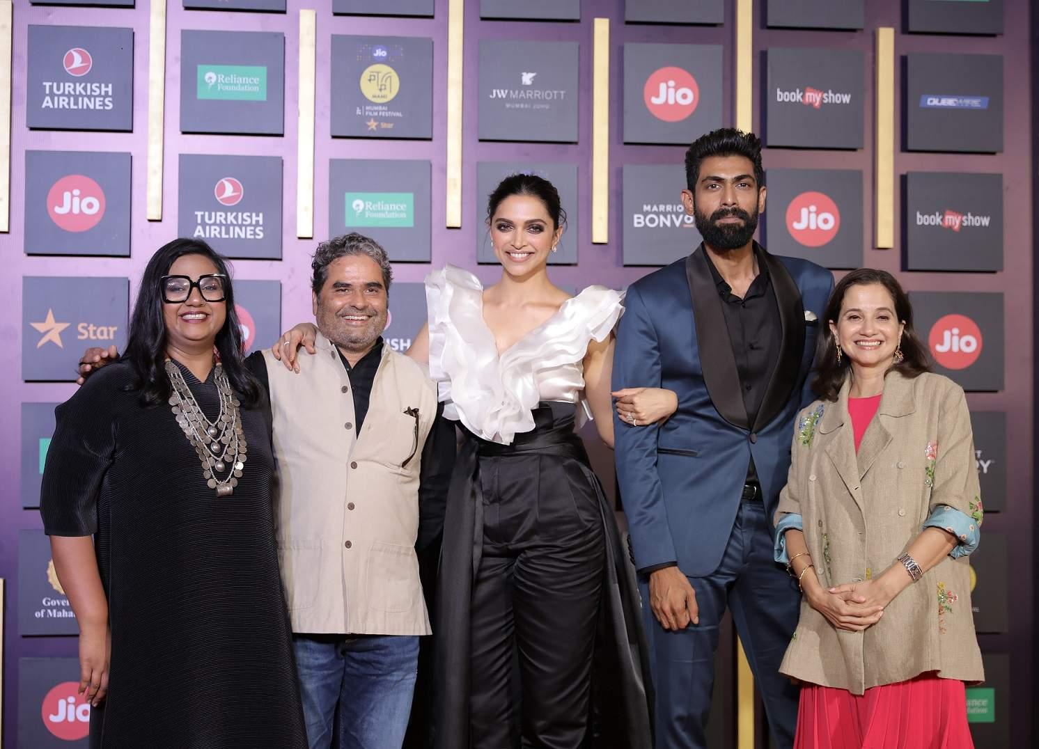 Vishal Bhardwaj, Deepika Padukone, Rana Daggubati and Anupama Chopra