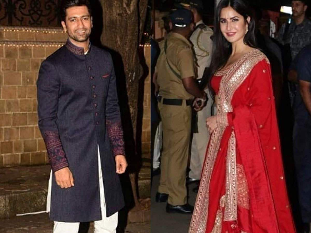 Bollywood stars Vicky Kaushal and Katrina Kaif