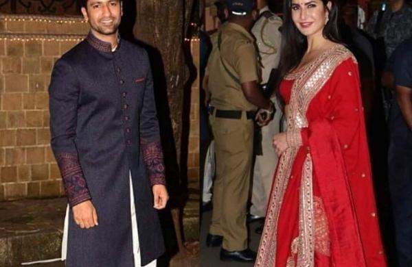 Bollywood stars Vicky Kaushal and Katrina Kaif
