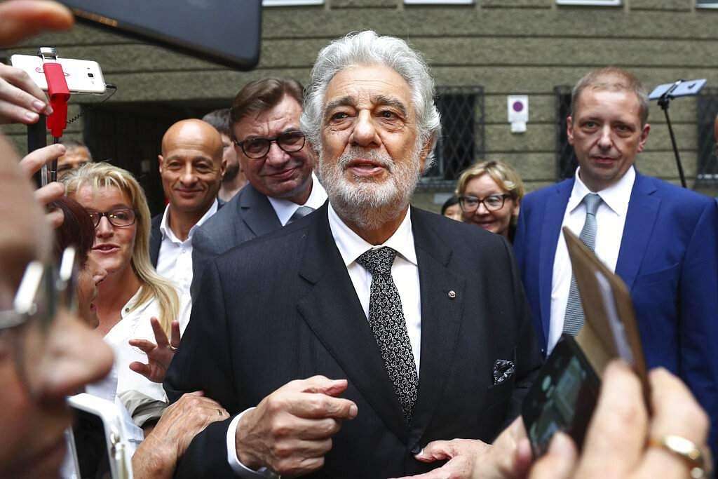 Placido Domingo (AP Photo/Matthias Schrader)