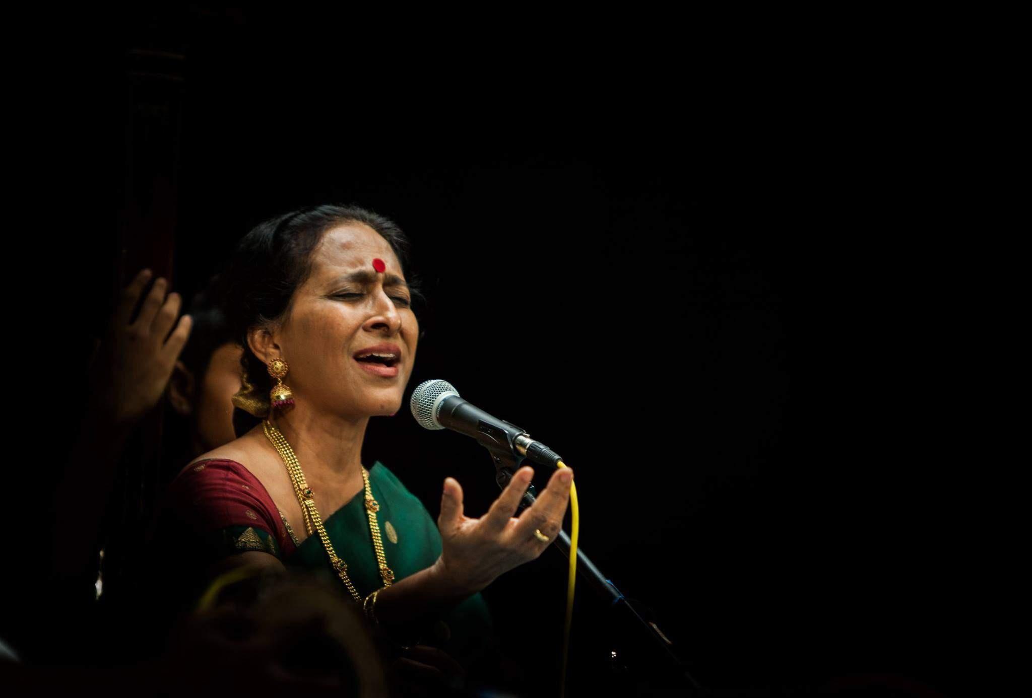 Carnatic singer Bombay Jayashri