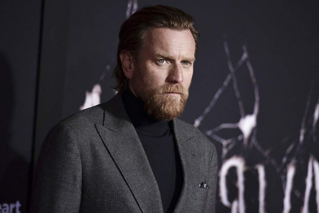 Ewan McGregor attends the LA premiere of 'Doctor Sleep' at the Regency Theatre (Photo by Richard Shotwell/Invision/AP)