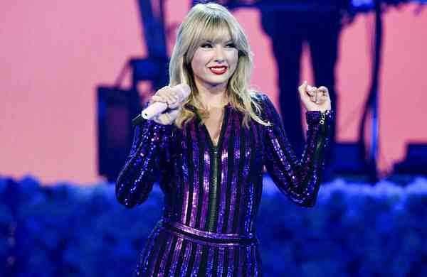 AP19302802737861Taylor Swift performs at Amazon Music's Prime Day concert in New York (Photo by Evan Agostini/Invision/AP, File)
