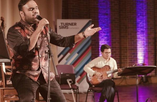 Classical singer Sachin Shankor Mannath